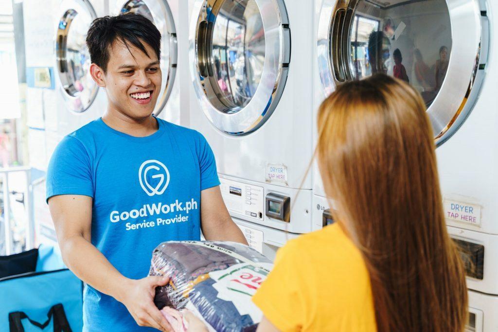 Dịch vụ giao nhận giặt là được quan tâm nhiều nhất trên GoodWork.