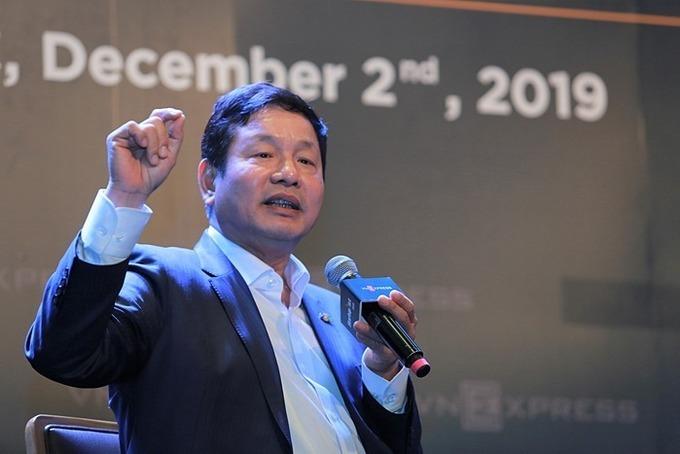Ông Trương Gia Bình -Chủ tịch HĐQT Tập đoàn FPT.