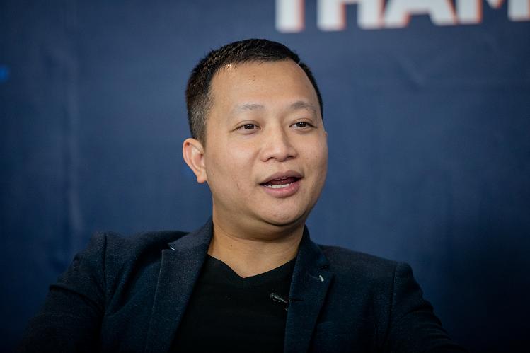 Nhà sáng lập kiêm Chủ tịch HĐQT Tiki, Trần Ngọc Thái Sơn.
