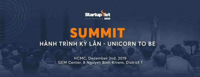 Chung kết Startup Việt 2019 diễn ra ngày 2/12 tại Gem Center, TP HCM.