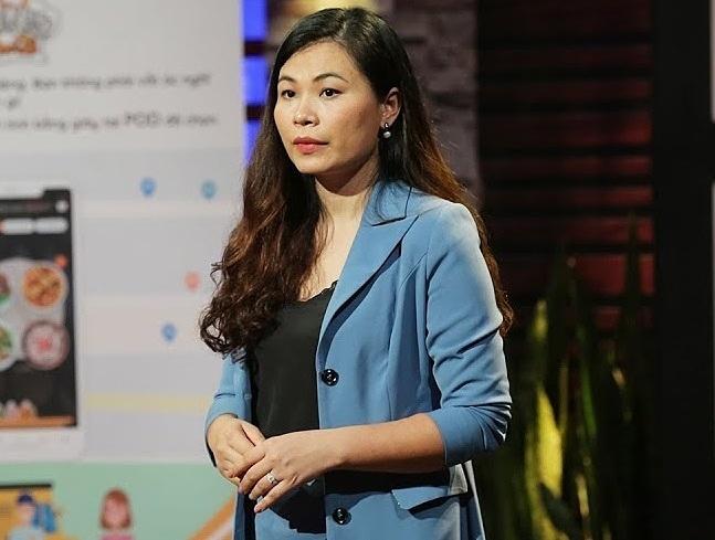 ChịLê Thị Thùy Linh, nhà sáng lập startupTối nay ăn gì.