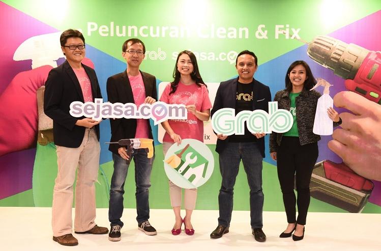 Nền tảng đặt dịch vụ Sejasa là một trong những startup nhận hỗ trợ từ Grab Ventures.