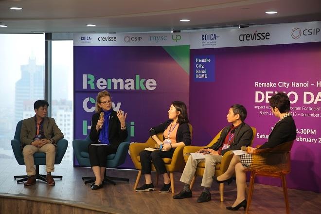 Ngày hội Kết nối Đầu tư (Demo Day), một trong những hoạt động nằm trong dự án