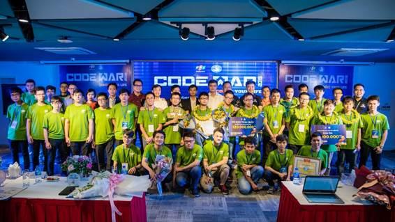 CodeWar 2019 là một trong nhữngcuộc thi lập trình lớn nhất cho sinh viên.