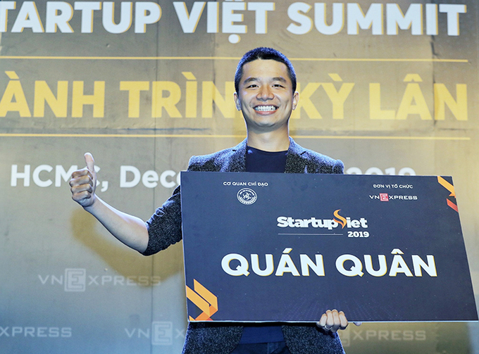Viec.Co là quán quân Startup Việt 2019