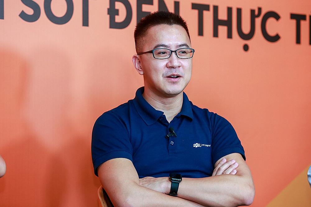 Ông Trần Huy Bảo Giang - Giám đốc chuyển đổi số FPT.