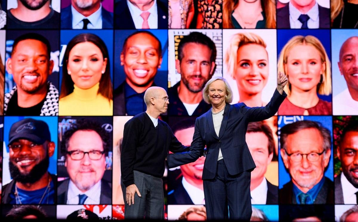Quibi được điều hành bởi hai tỷ phú là ông Jeffrey Katzenberg và bà Meg Whitman.