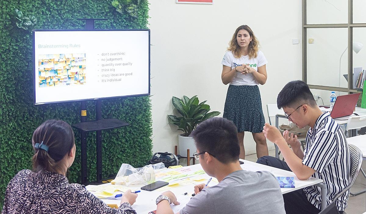 ThinkZone sẽ đào tạo Design Thinking trong chuỗi bootcamp của Startup Việt 2020.