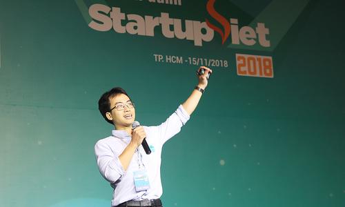 'Startup phải thay đổi đủ nhanh để sinh tồn'