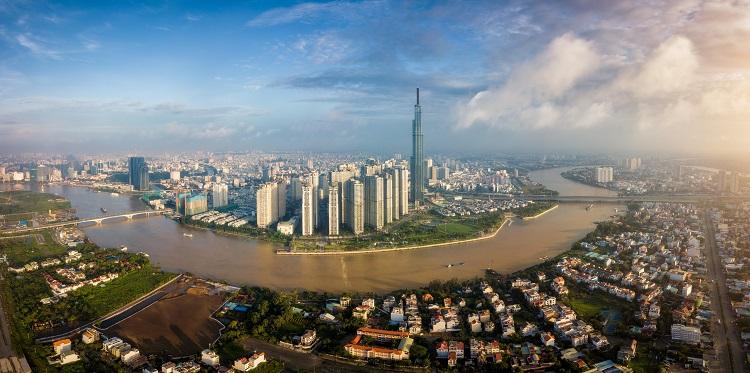 Một góc TP HCM, nơi ươm mầm cho đông đảo startup Việt. Ảnh: 123rf.