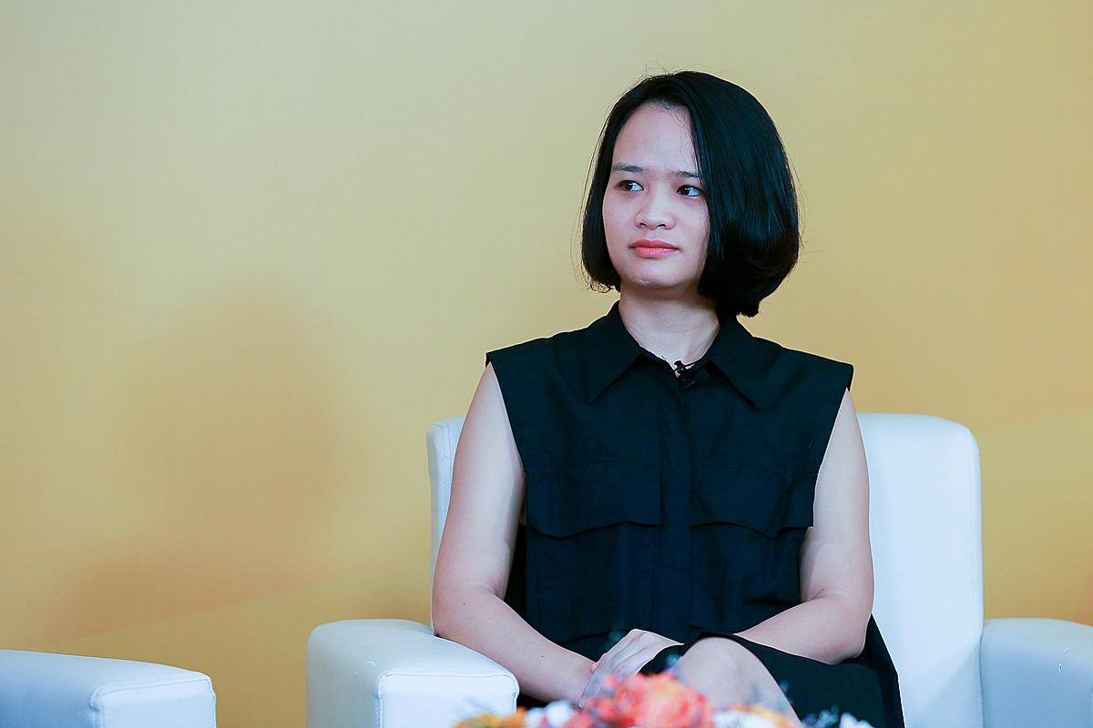 Bà Nguyễn Hoàng Minh Thủy - Giám đốc tài chính của Beta Corporation. Ảnh: Thành Huế.