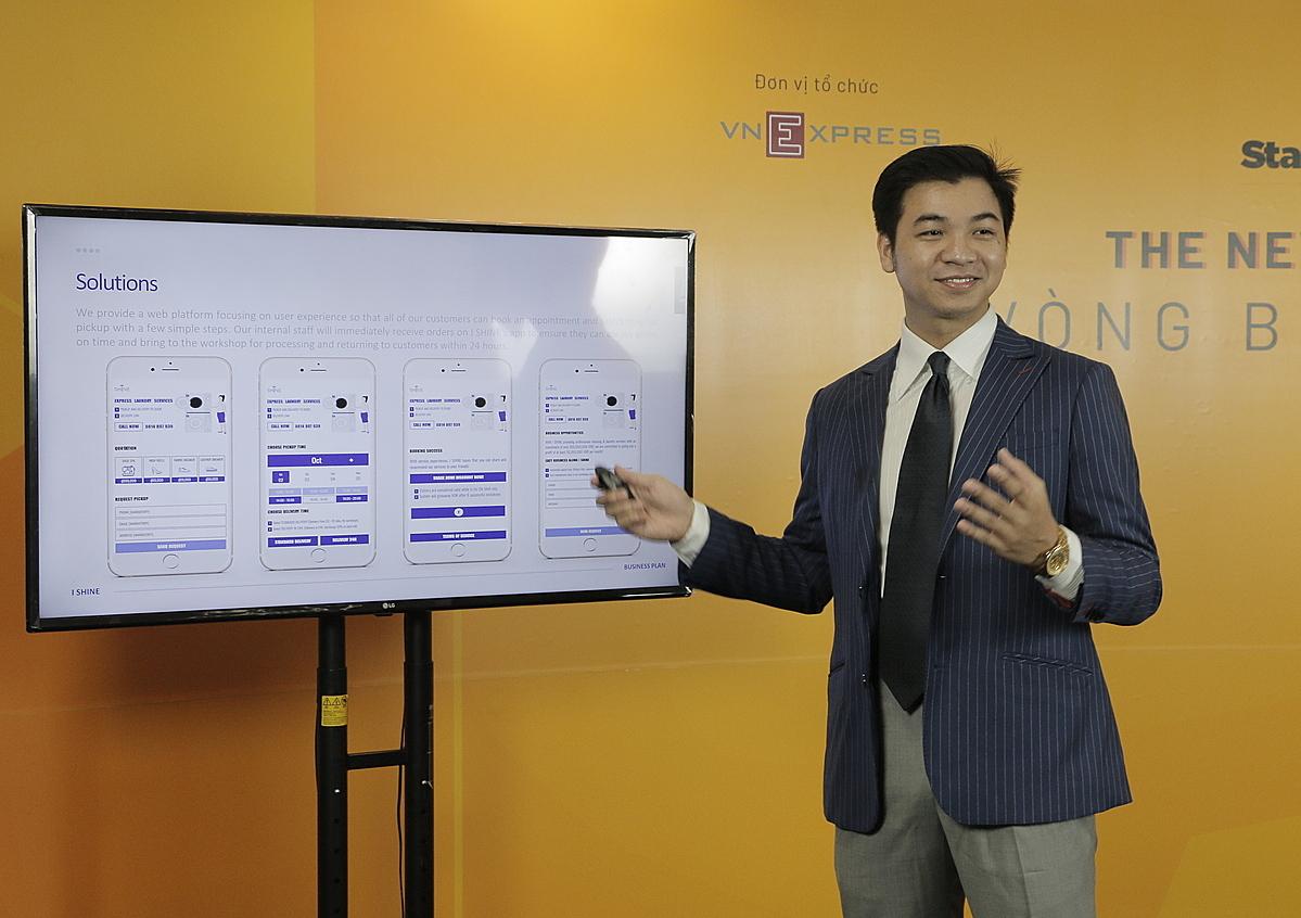 Từ phần ghi hình bài pitch-deck của Top 50, hội đồng chuyên môn sẽ chọn ra top 15 Startup Việt 2020. Ảnh: Khánh Hoàng.