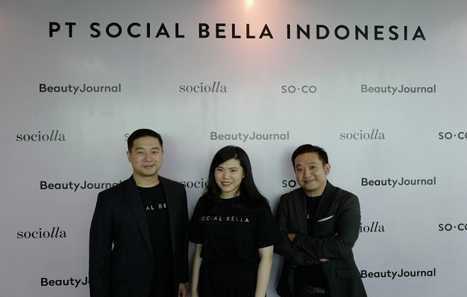 Đội ngũ sáng lập sáng lập Social Bella. Ảnh: Social Bella.