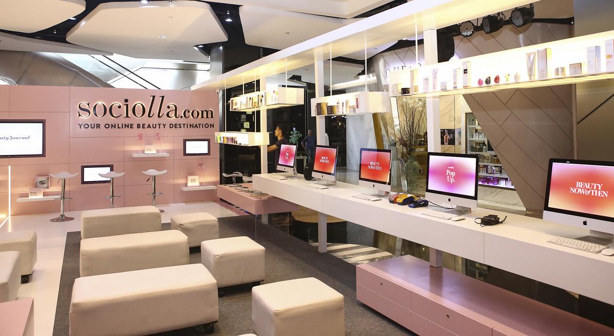 Sàn thương mại điện tử Sociolla hiện đã hỗ trợ tiếng Việt. Ảnh: TechInAsia.