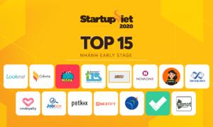 Startup Việt 2020 công bố top 15