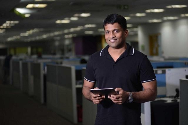 Byju Raveendran, nhà sáng lập và CEO Byjus. Ảnh: Getty Images.