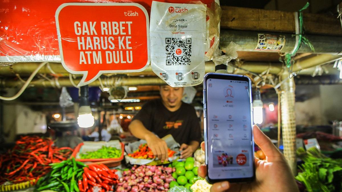 Nhu cầu giao dịch thanh toán kỹ thuật số của Indonesia đã tăng 78% vào năm ngoái: Ảnh: Akira Kodaka.