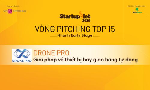 Drone Pro - giải pháp về thiết bị bay giao hàng tự động
