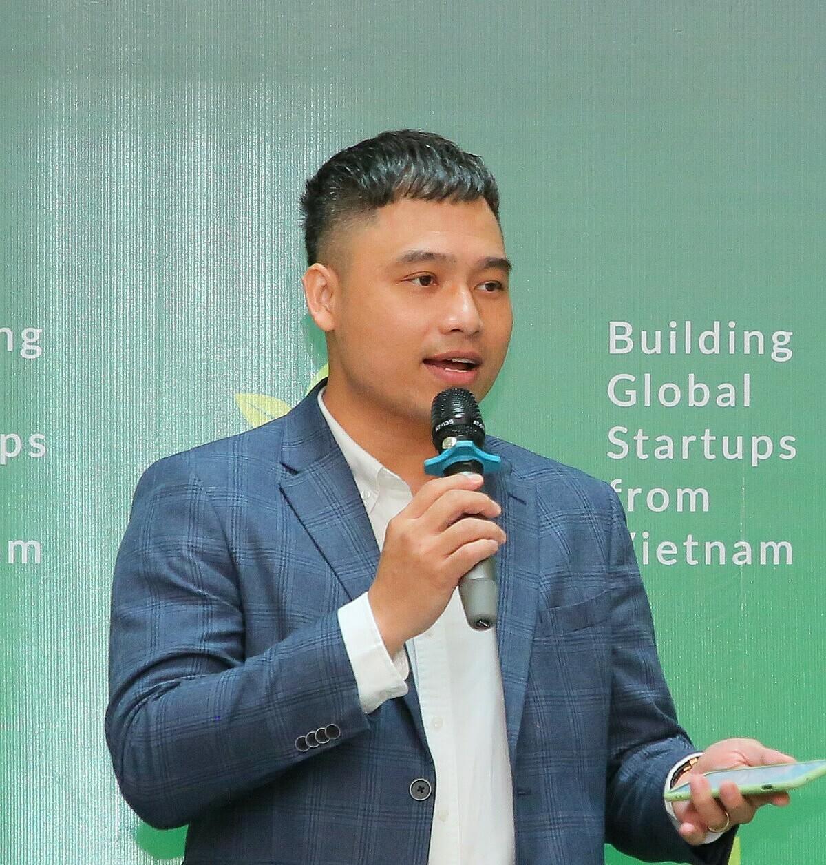 Ông Võ Trần Đình Hiếu - CFO tại Quỹ Tăng Tốc Khởi Nghiệp VIISA. Ảnh: BTC.