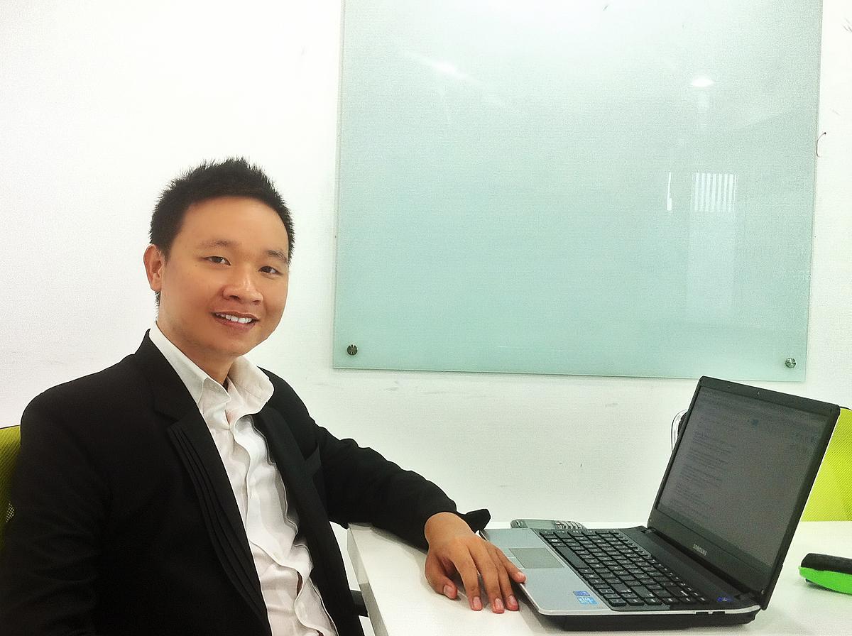Ông Đào Việt Thắng, nhà sáng lập Vexere. Ảnh: BTC.