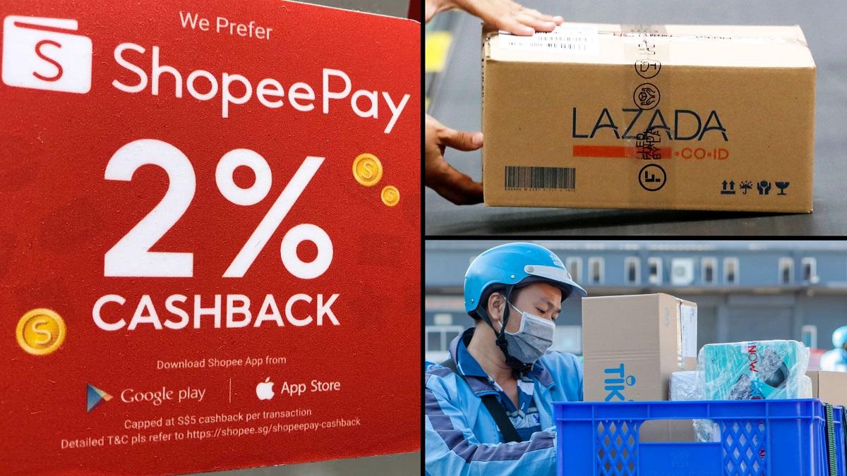 Shopee hiện là sàn TMĐT được truy cập nhiều nhất ở Việt Nam, theo sau là TGDĐ, Tiki và Lazada. (Ảnh: Nikkei).