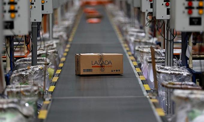 Lazada mất vị thế tại Việt Nam dù có mặt trước. Ảnh: Reuters/Darren Whiteside.