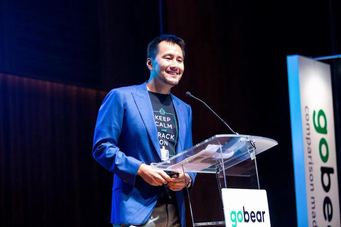 GoBear CEO Adrian Chng (Ảnh: GoBear).