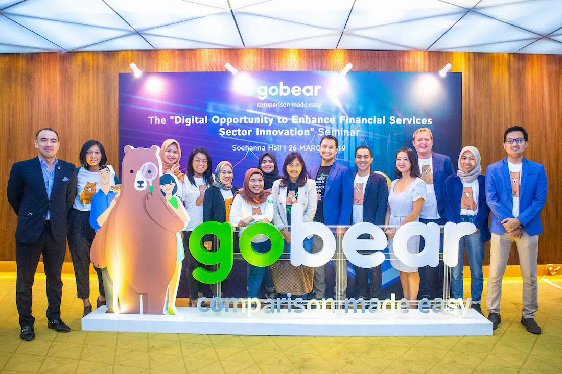 GoBear ra mắt tại Việt Nam từ cuối năm 2016: Ảnh: TechInAsia.