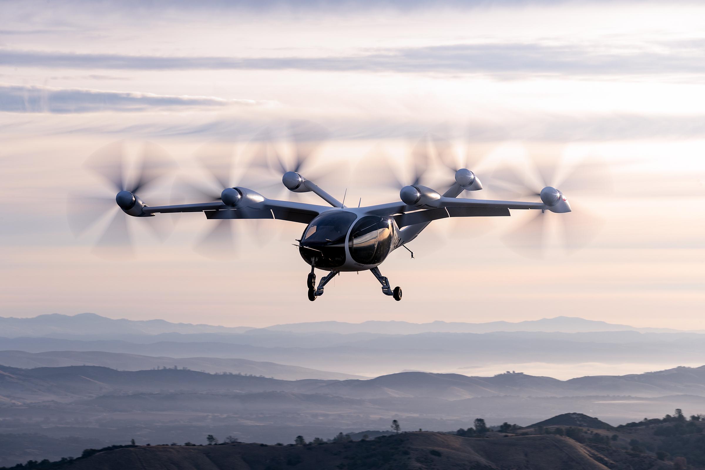 Mẫu phi cơ thử nghiệm của Joby Aviation. Ảnh: Business Wire.
