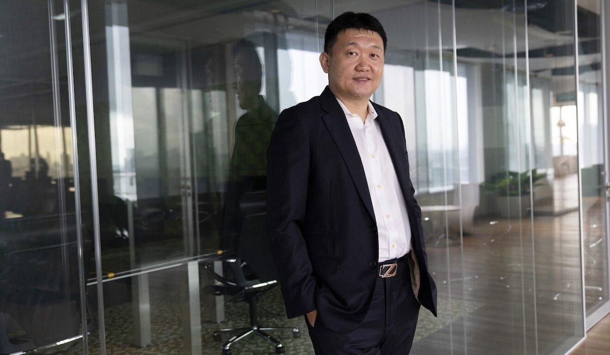 Forrest Li của Sea Group. Ảnh: Bloomberg.