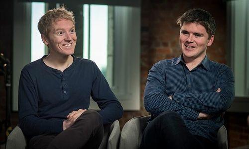 Hai anh em bỏ học lập startup trị giá 95 tỷ USD