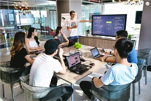 Các startup tham dự Startup Việt 2019.