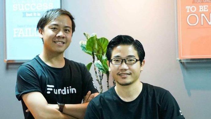 Hai nhà sáng lập Fundiin là Võ Hoàng Nam (trái) và Nguyễn Ảnh Cường (Nguồn: Fundiin).