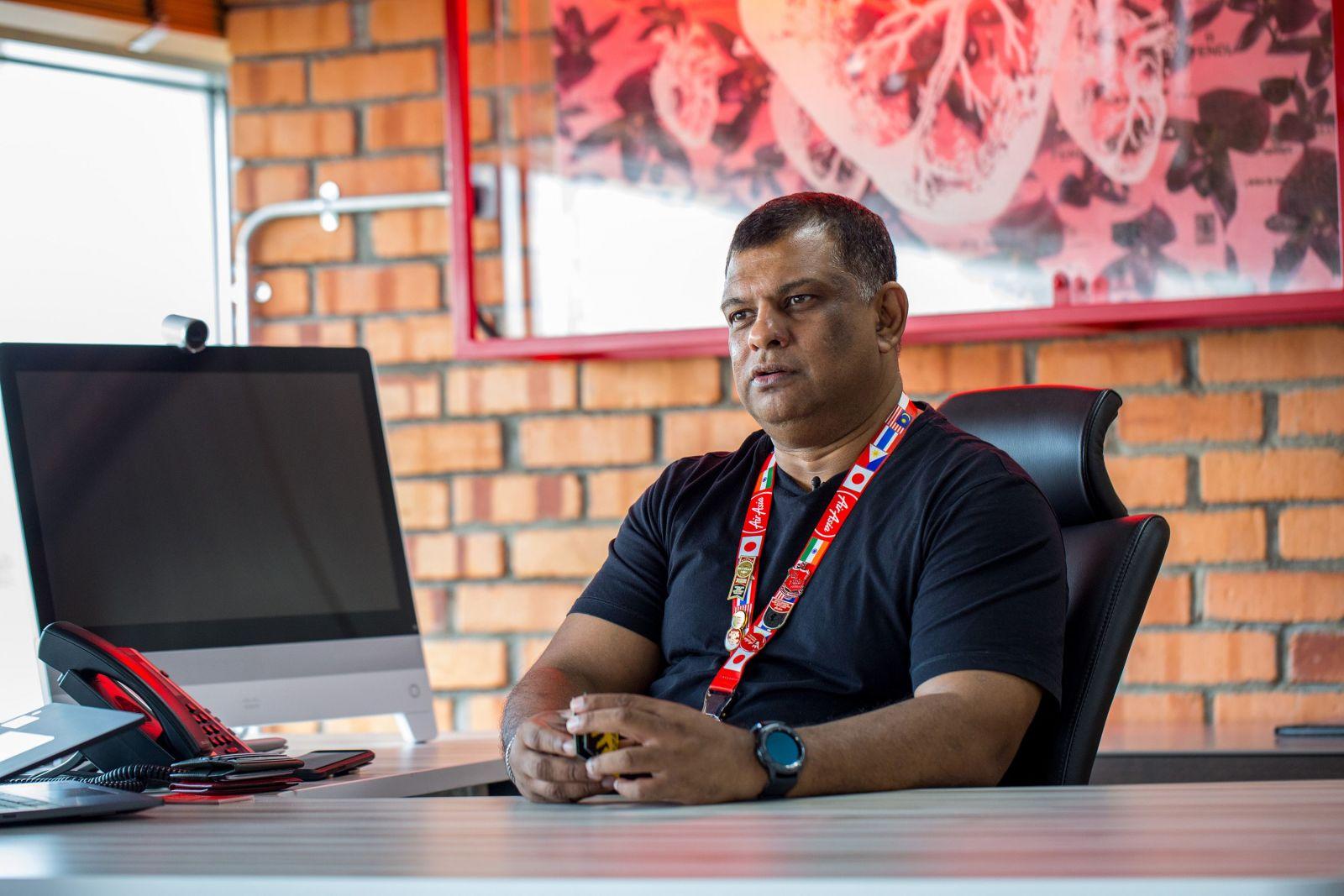 Tony Fernandes - Giám đốc AirAsia.
