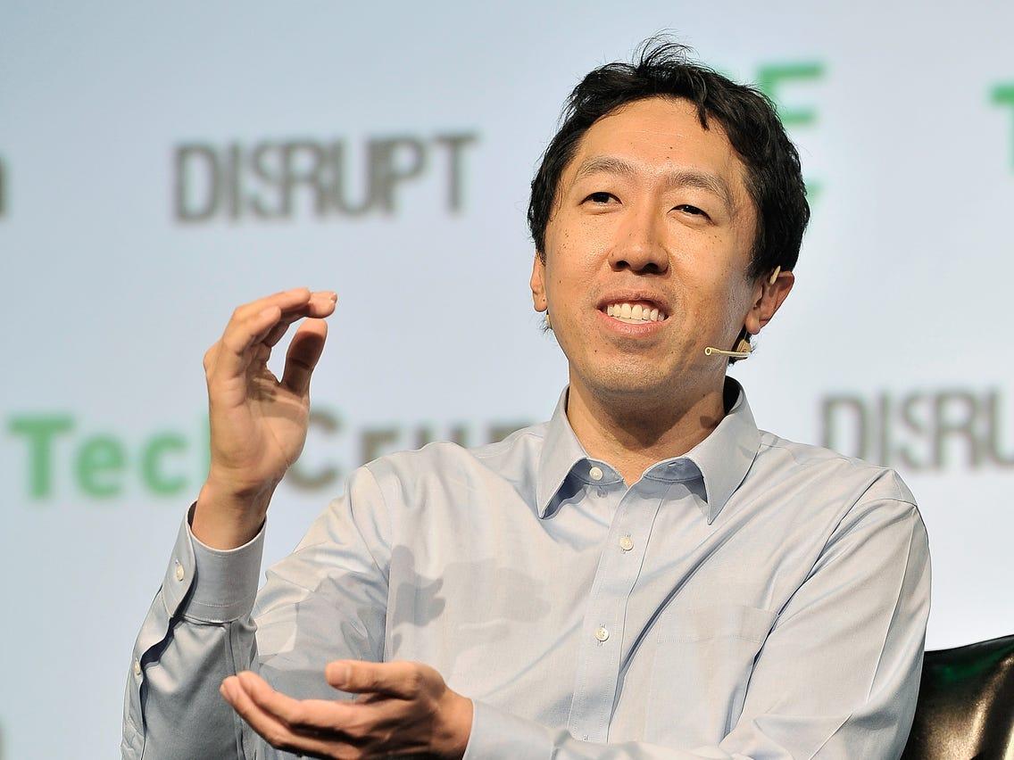 Andrew Ng. Nhà đồng sáng lập startup giáo dục Coursera. Ảnh: Techcrunch