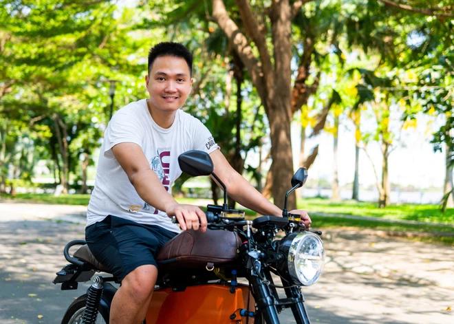 Nhà sáng lập Nguyễn Bá Cảnh Sơn. Ảnh: Dat Bike.