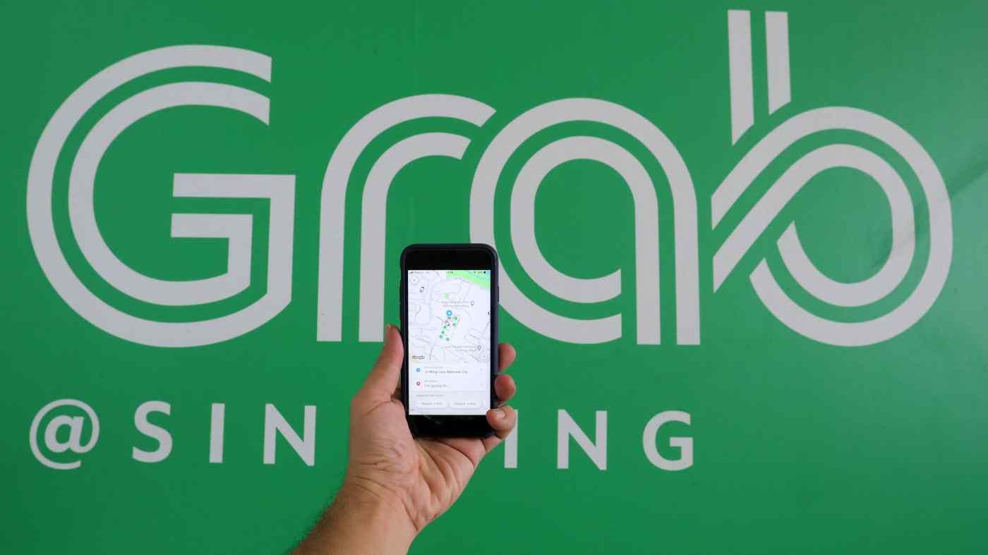 Siêu ứng dụng Grab với các mảng gọi xe, giao hàng, tài chính.