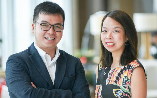 ông Trần Nhật Khanh và bà