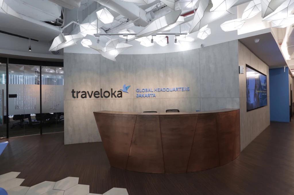 Một văn phòng của Traveloka. Ảnh: Traveloka.