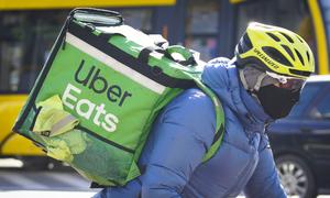 Uber giao giấy vệ sinh, kem đánh răng tại Mỹ