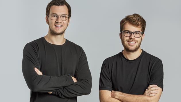 Brex Henrique Dubugras (L) và Pedro Franceschi (R).Nguồn: Brex