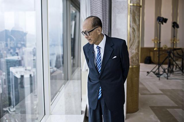 Tỷ phú Li Ka-shing. Ảnh: Bloomberg.