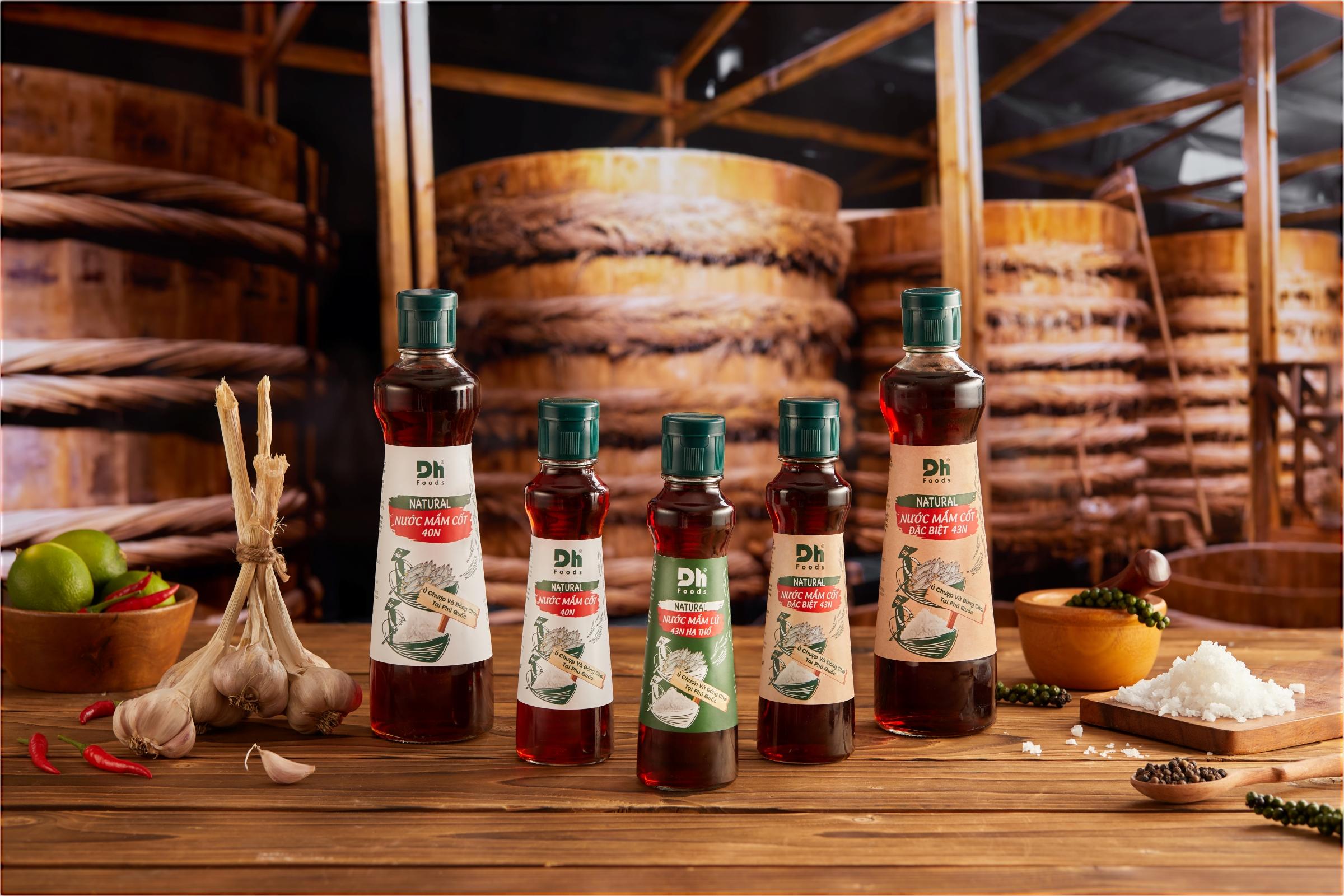 Nước mắm - gia vị đặc trưng của người Việt và được yêu thích trên thế giới. Ảnh: Dh Foods.