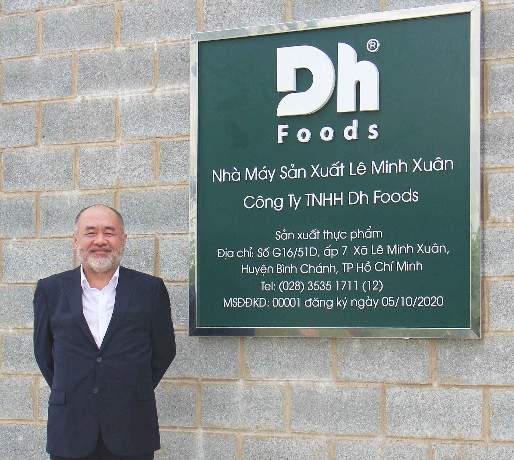 Ông Nguyễn Trung Dũng - CEO Dh Foods. Ảnh: NVCC.