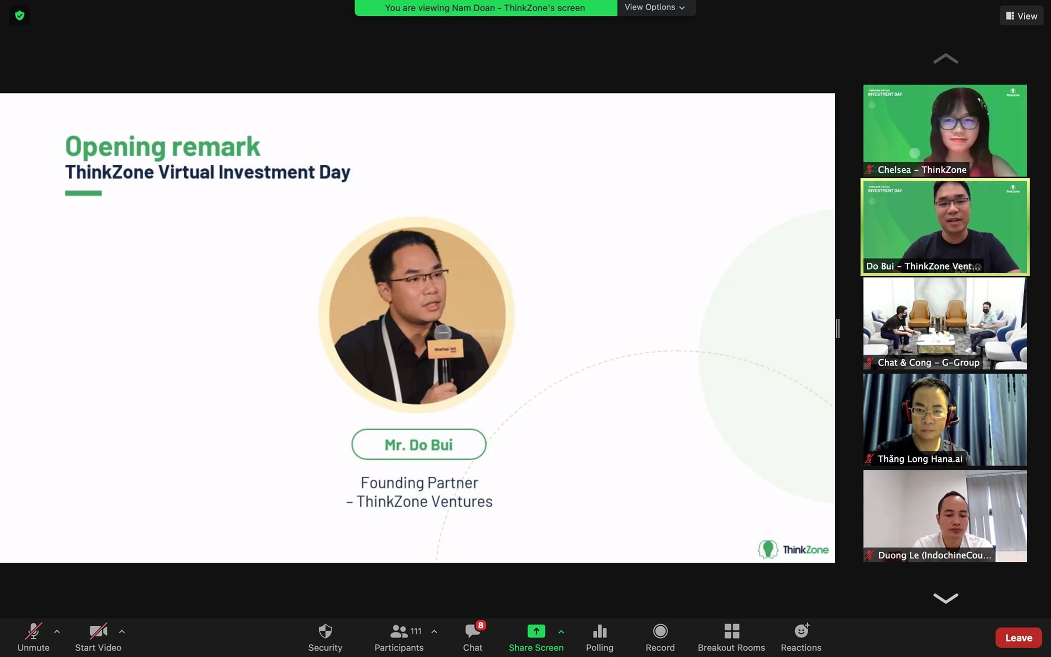 Sự kiện tổ chức trực tuyến giúp kết nối startup, nhà đầu tư trong bối cảnh phòng chống dịch.