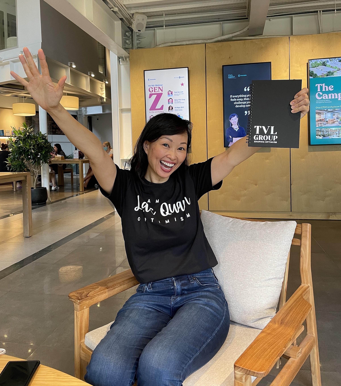 MoveUp hợp tác nhiều nhà sáng tạo nội dung như Shark Thái Vân Linh để mang đến nhiều nội dung học tập. Ảnh: NVCC.