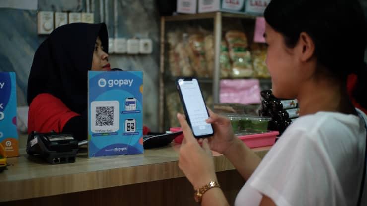 Công ty công nghệ Indonesia GoTo cung cấp các dịch vụ thanh toán theo yêu cầu, thương mại điện tử và thanh toán kỹ thuật số.