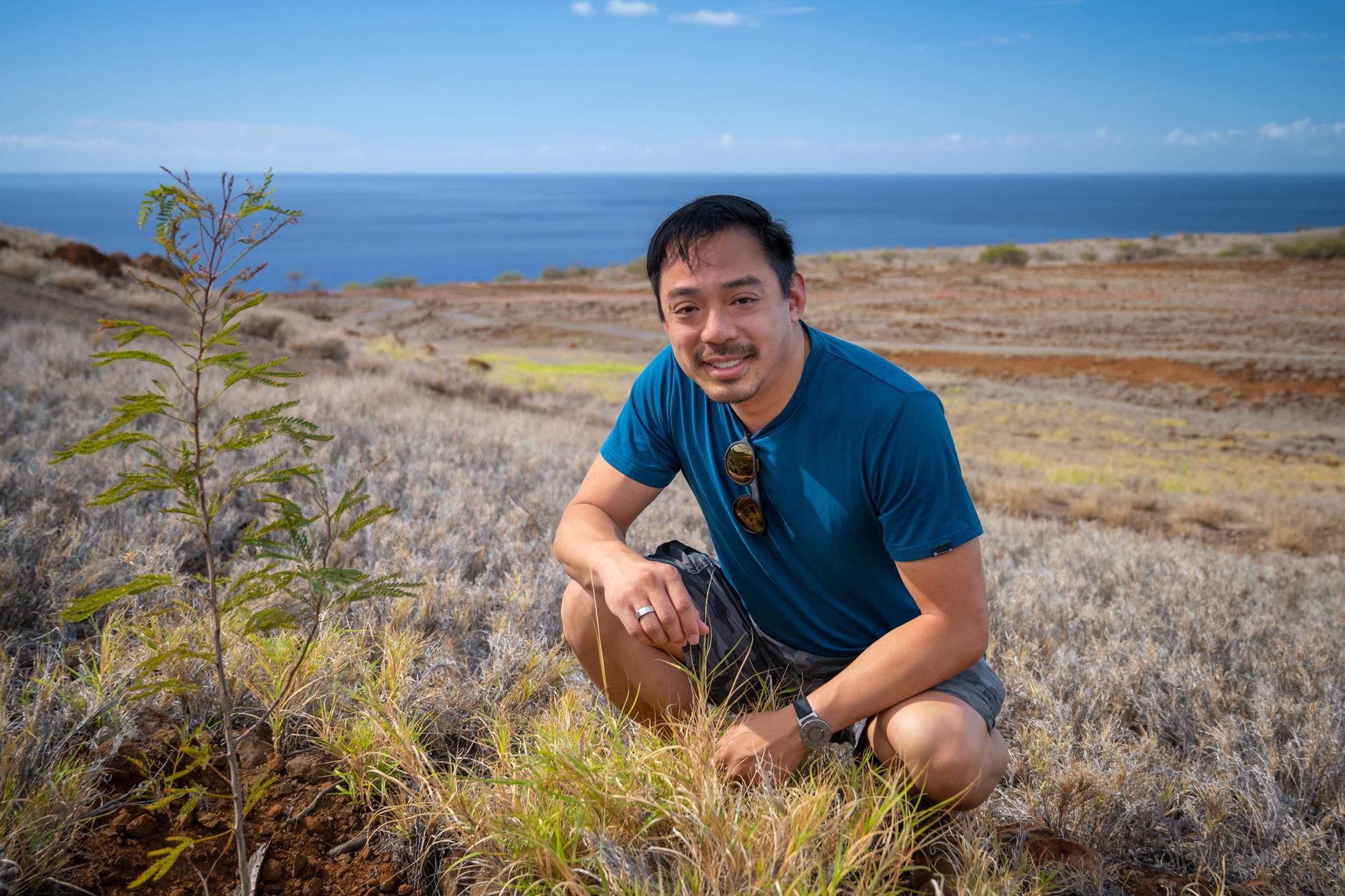 Cựu CEO Reddit Yishan Wong giờ là nhà sáng lập của startup trồng cây kiếm tiền. Ảnh: Terraformation.