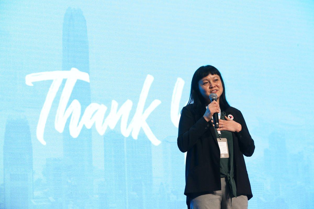 Bà Jayne Chan, người đứng đầu StartmeupHK. Ảnh: Twitter.