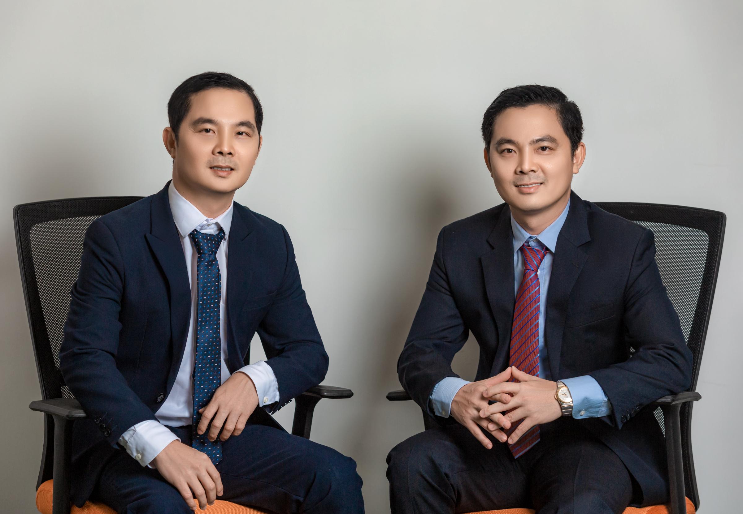 Phan Thanh Vinh và Phan Thanh Long, hai nhà đồng sáng lập MFast. Ảnh: NVCC.